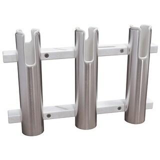 TACO Metals Aluminum Poly 3-Rod Rack Holder F31-3103BXZ-1 Rod Rack Holder