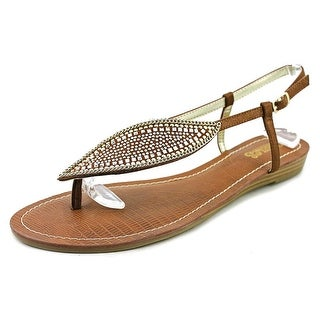 Carlos by Carlos Santana Laverne Women Open Toe Canvas Brown Sandals