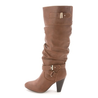 Rampage Women's Eliven Round Toe Knee High Boot