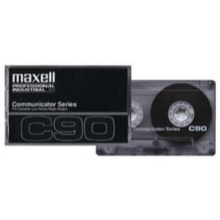 Maxell Cassette, Type I Normal Bias, 45 min, Communicator, Std