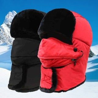 Winter Unisex Face Neck Protected Thick Warm Windproof Snowproof Hat Cap Beanie