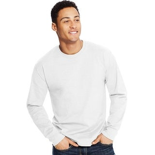Hanes X-Temp Men's Long-Sleeve T-Shirt