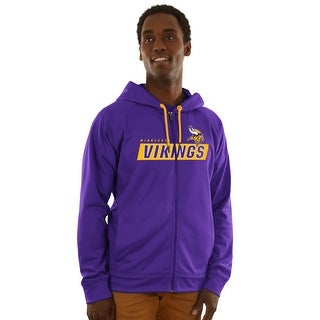 Minnesota Vikings Game Elite Zip-up Hoodie
