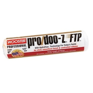 """Wooster RR667-9 Pro Doo-z FTP Roller Cover, 1/2"""""""