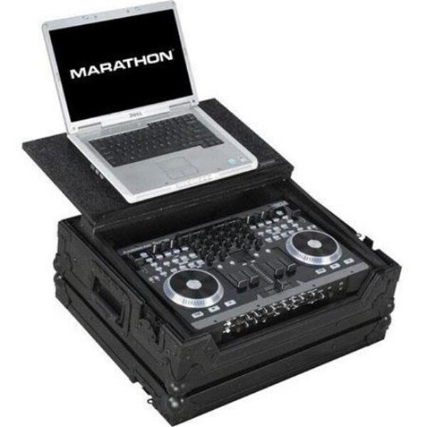 Marathon Professional MA-VMS4LTBLK Dj Mixer Case