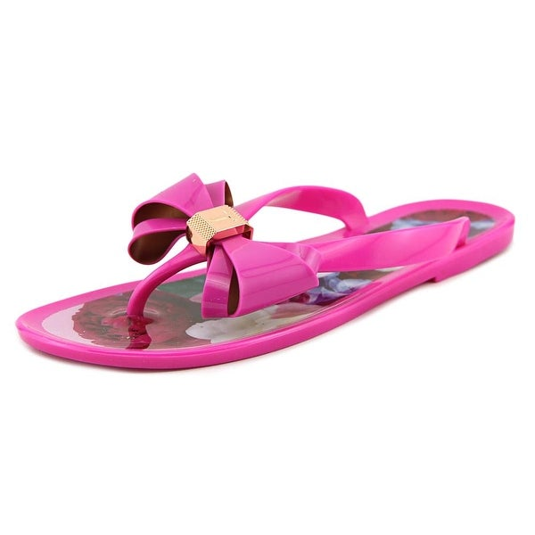 ac03880df44a51 Shop Ted Baker Rueday Women Open Toe Synthetic Pink Flip Flop Sandal ...