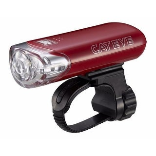 CatEye Battery-Powered Cycling Headlight - HL-EL140 - Red