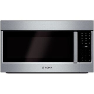 Bosch HMV8052U 385 CFM 30 Inch Wide Over-the-Range Microwave with Convection Cooking from the 800 Series