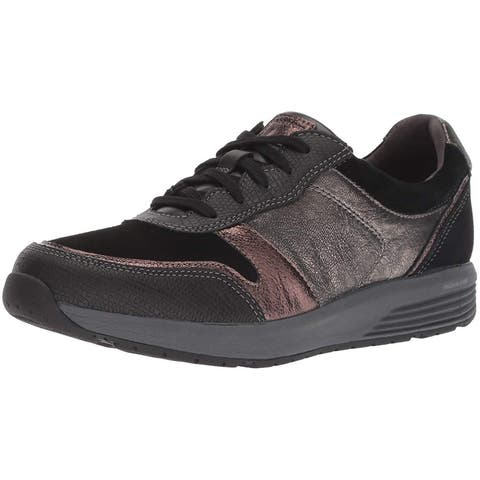 Rockport Womens Truststride Low Top Lace Up Fashion Sneakers