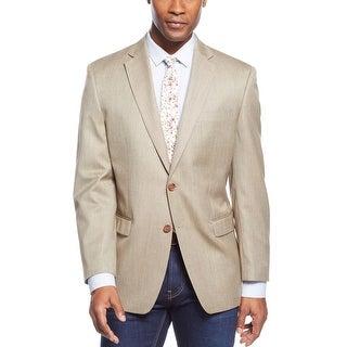 Ralph Lauren RL Gold Pinhead Two Button Sportcoat Blazer 42 Regular 42R
