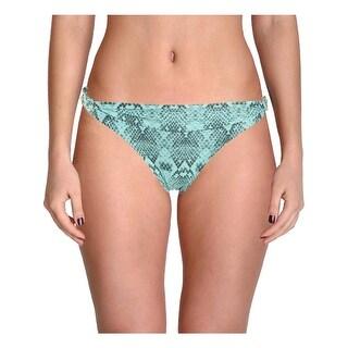 ViX Womens Snake Print Full Coverage Swim Bottom Separates