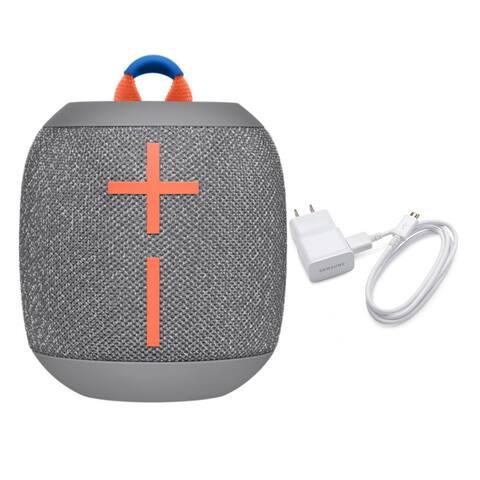 Ultimate Ears Wonderboom2 Waterproof Bluetooth Speaker Grey w/ Charger