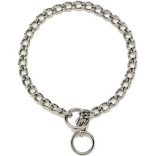 "Titan 05515-A-G1512 Chain Training Dog Collar, 1.5 mm x 12"""