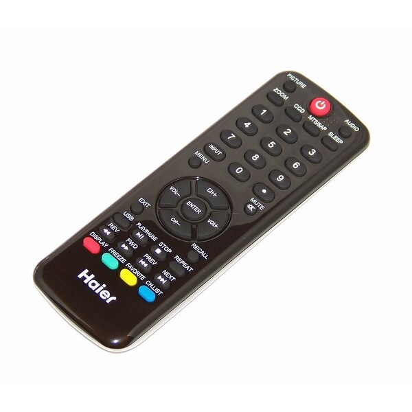 NEW OEM Haier Remote Control Originally Shipped With LE32D32200A, LE46A2280A