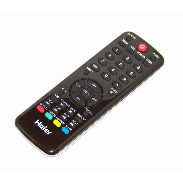 NEW OEM Haier Remote Control Originally Shipped With LE46F2280, LE24C3320A
