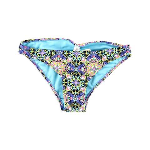 Aeropostale Womens Bright Floral Bikini Swim Bottom