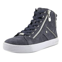 G by Guess Womens Maker Leather Hight Top Lace Up Fashion Sneakers
