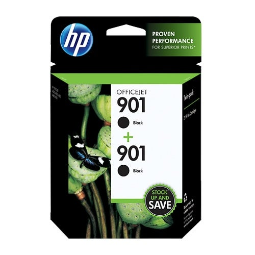 HP 711 38-ml Black DesignJet Ink Cartridge (CZ075FN)(Single Pack)