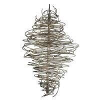 2nd Ave Lighting 01.0995.72.96H Cyclone Chandelier - Pewter