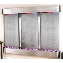 Adagio Deep Creek Falls With Silver Mirror in Stainless Steel Finish and Rounded