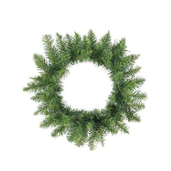 """12"""" Buffalo Fir Artificial Christmas Wreath - Unlit"""