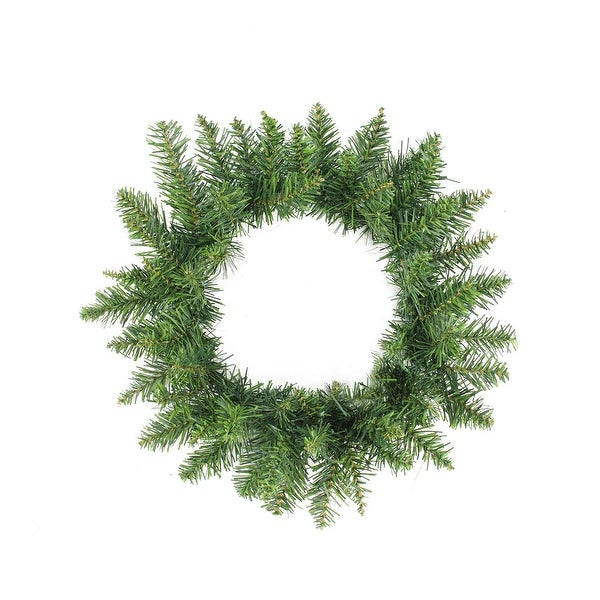 "16"" Buffalo Fir Artificial Christmas Wreath - Unlit - green"