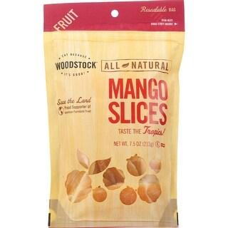 Woodstock Farms - Low Sugar Unsulphured Mango Slices ( 8 - 7.5 OZ)