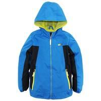 iXtreme Big Boys Solid Mesh Lined Jacket Windbreaker Hooded Spring Coat