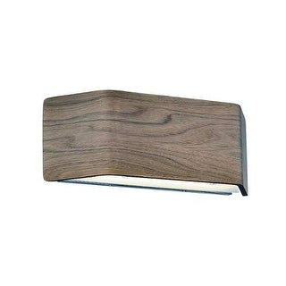 Modern Forms WS-97614 Asgard 1 Light LED ADA Compliant Wall Sconce - 5 Inches Tall - Walnut