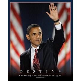 ''Barack Obama: Destiny'' by Anon Americana Art Print (20 x 16 in.)