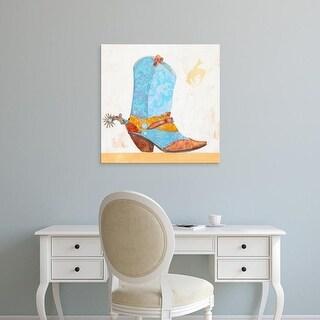 Easy Art Prints Anthony Grant's 'Boy Boot' Premium Canvas Art