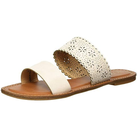 Xoxo Womens Roxboro Open Toe Casual Slide Sandals