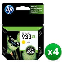 HP 933XL Yellow Original Ink Cartridge (CN056AN)(4-Pack)