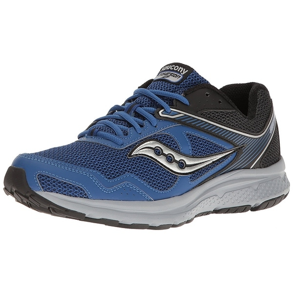 Shop Saucony Mens Grid Cohesion Low Top Lace Up Trail Running Shoes ... ccb4580bd