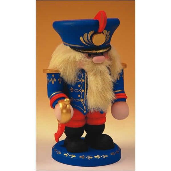 """13"""" Zims Heirloom Collectibles Ship Captain Christmas Nutcracker"""