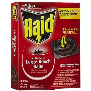 Raid 15746 Double Control Large Roach Baits