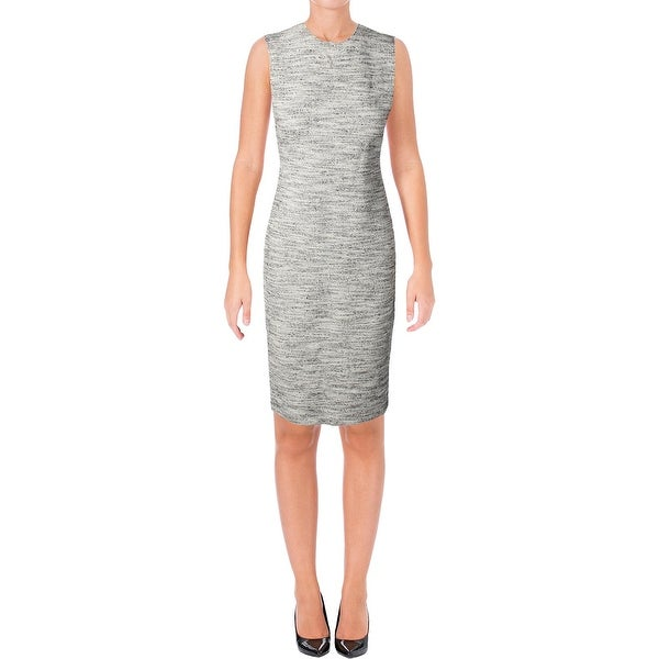 9d4f26e03c2 Shop Theory Womens Eano Wear to Work Dress Textured Marled - Free ...