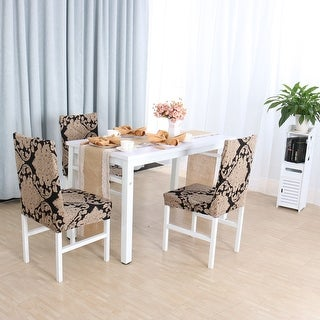 Spandex Stretch Removable Dining Room Chair Cover