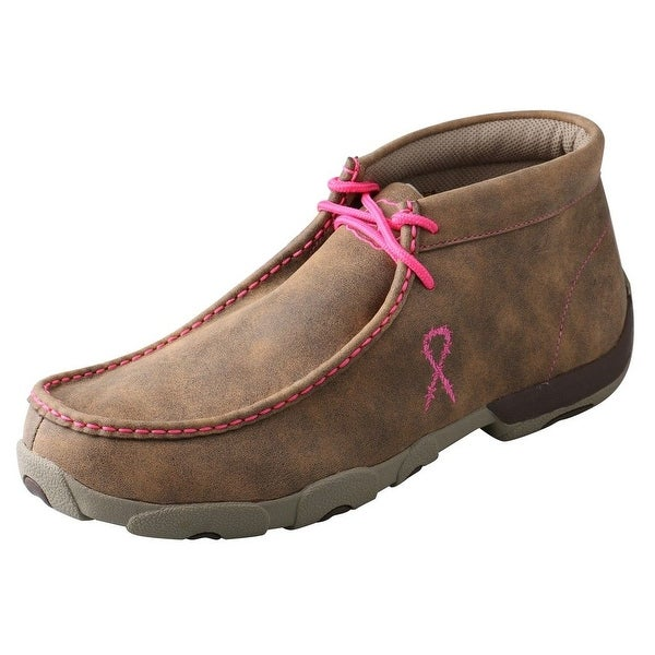 Twisted X Casual Shoes Mens Driving Mocs Red Buckle Bomber