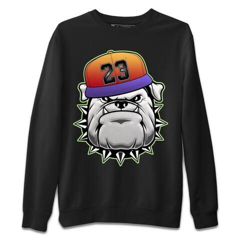English Bulldog Sweatshirt Jordan 5 What The Sneaker Matching Outfits