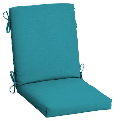 Arden Selections Leala Texture Outdoor Dining Chair Cushion
