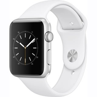 Apple Watch Series 1 42mm Smartwatch (Silver Aluminum Case/White Sport Band)