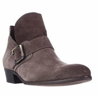 Paul Green Capshaw Low Ankle Boots  - Earth Suede