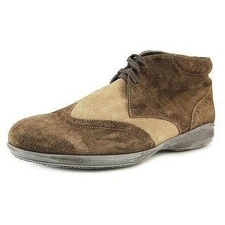 Gold Brothers Zero T Apron Toe Suede Chukka Boot