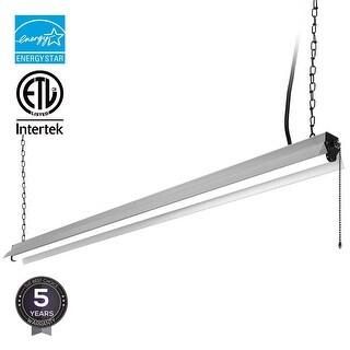 4ft LED Utility Shop Light, 40W, 3200lm, 4000K Cool White, ENERGY STAR