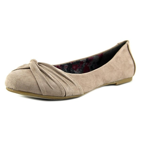 Report Mariann Women Round Toe Synthetic Gray Flats