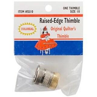 Size 10 - Raised-Edge Thimble