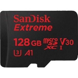 Sandisk Sdsqxvf-128G-An6ma Extreme 128Gb Uhs-I Class 10 U3 Microsdxc Memory Card