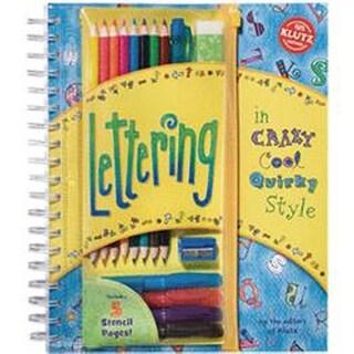 Lettering Book Kit-