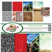 "Reminisce Collection Kit 12""X12""-Farm Fresh"